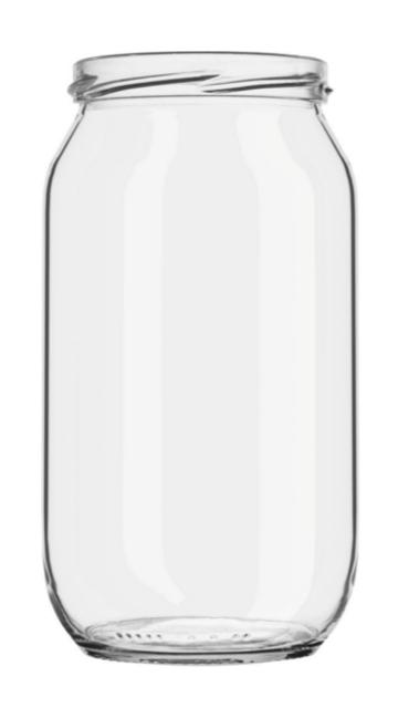 GLASS JAR BOR 1000 ml